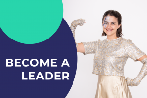 A girl is feeling empowered to become a leader