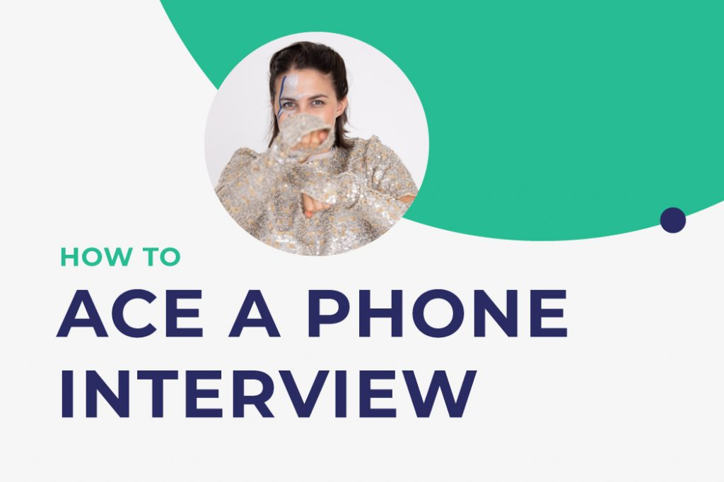 How to ace a phone job interview